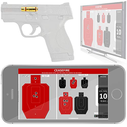 LaserHIT Dry Fire Training Kit (9mm/HD Wireless Mini, iOS)