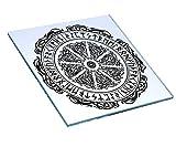 Lokis - Baúl para Espejo, decoración, runas y Nudos celtas de mitología nórdica, Vikingo, Odin Thor Sleipnir