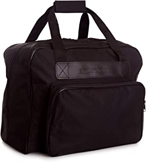 Embroidex Black Sewing Machine Carrying Case - Carry Tote/Bag Universal