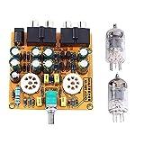 Módulo electrónico del amplificador del preamplificador del tubo 6J1, controlador de voz de la clase A del módulo del amplificador del preamplificador de la CA 12V HIFI