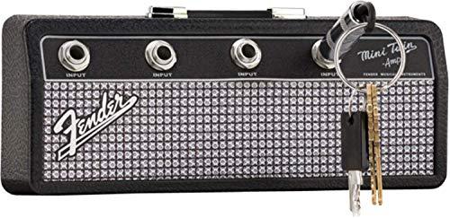 Fender Soporte para llaves Jack Rack en diseño de guitarra, color negro