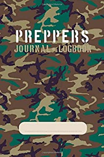 Preppers Journal • Logbook: For storing crucial survival information
