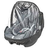 Maxi-Cosi burbuja de lluvia universal, Protector de lluvia para silla coche Grupo 0+ portabebés 0-12 meses, color transparente
