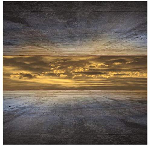 Landschap Poster en afdrukken muurkunst canvas schilderij hemel buiten de hoge muurschilderingen voor woonkamer wooncultuur 70x70 cm geen lijst