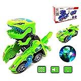FGZU Dinosaurio Transformación, los Mejores Juguetes de Regalo para niños, Verde