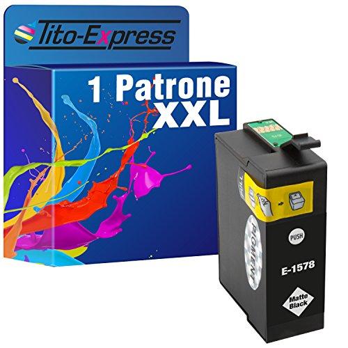 platinumserie–Impresora de tinta XXL te1578Matte Black Compatible con Epson Stylus Photo R3000