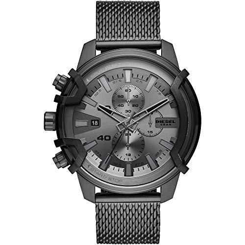 Diesel Reloj Analógico para Hombre de Cuarzo con Correa en Acero Inoxidable DZ4536