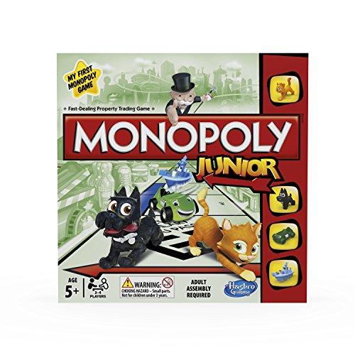 Monopoly Hasbro Gaming Junior, Juego de Mesa (versión en inglés)