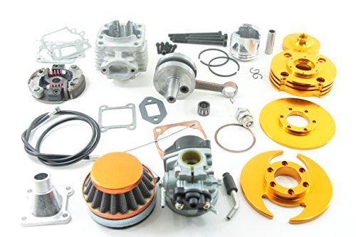 Nitro Motors Pocketbike Big Bore Set Typ 5 + Tuning Vergaser + Renn Kupplung 49cc Ersatzteil