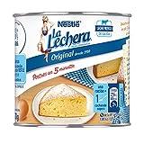 Nestlé La Lechera Leche condensada entera - Lata de leche condensada entera abre fácil - Caja de 12 x 370g