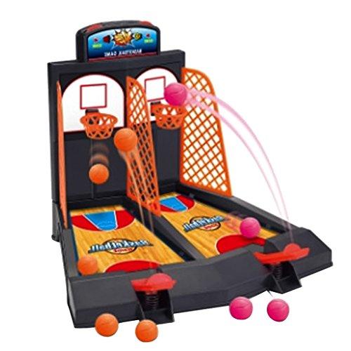 Juguetes de Mesa Diversión Familiar Mini Baloncesto Disparar los Dedos Niños