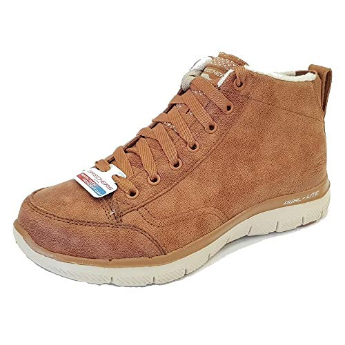 Skechers Flex Appeal 2.0 - Warm Wishes Chestnut Textil
