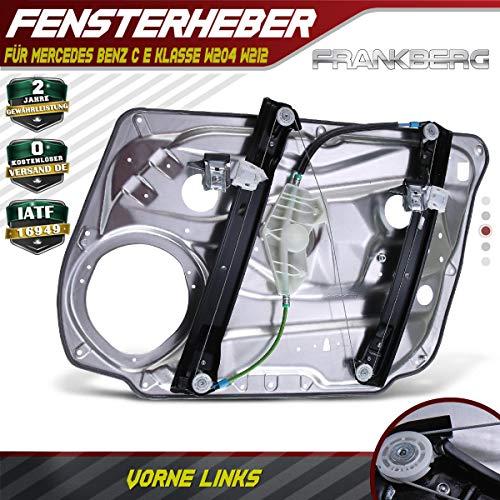 Frankberg Fensterheber Mit Grundplatte Vorne Links für C-Klasse E-Klasse W204 W212 Limiousine 2008-2014 A2127201579