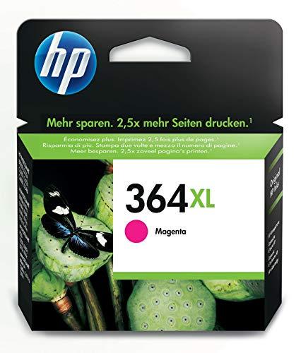 HP 364XL cartouche d'encre magenta grande capacité authentique pour HP DeskJet 3070A et HP Photosmart 5525/6525 (CB324EE)