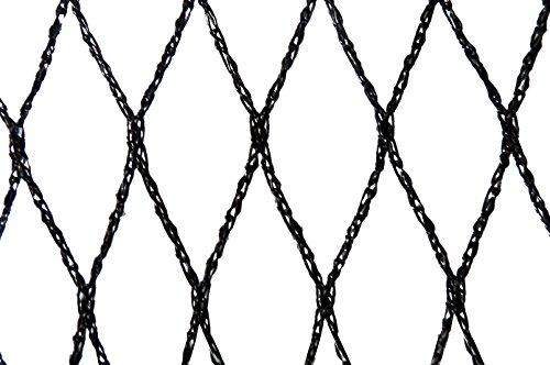 Filet anti-oiseaux - Maille de 22mm Noir 5m x 10m