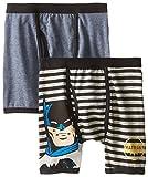 DC Comics Boys 'Batman Justice League Vintage' Boxer Brief Underwear Pack, Multi, 4