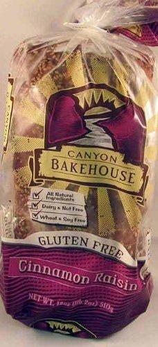 Canyon Bakehouse Gluten Free Cinnamon Raisin Bread, 18 Oz.