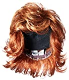 Raquel Welch Breeze, Short Textured Layers With A Feathered Bob Style Hair Wig For Women, R28S Glazed Fire by Hairuwear