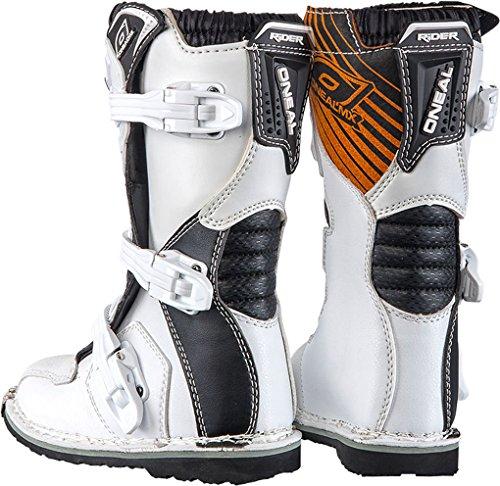 O'Neal Rider Boot MX Stiefel Weiß Moto Cross Enduro Motorrad, 0329-2, Größe 43 - 2