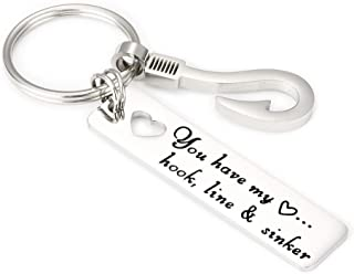 Keychains Stay Safe Babe I Need You Here With Me Lover Couple Birthday Anniversary Gifts