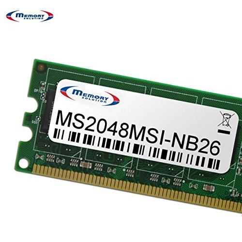Memory Solution MS2048MSI NB26 2GB Speichermodul Speichermodule 2 GB