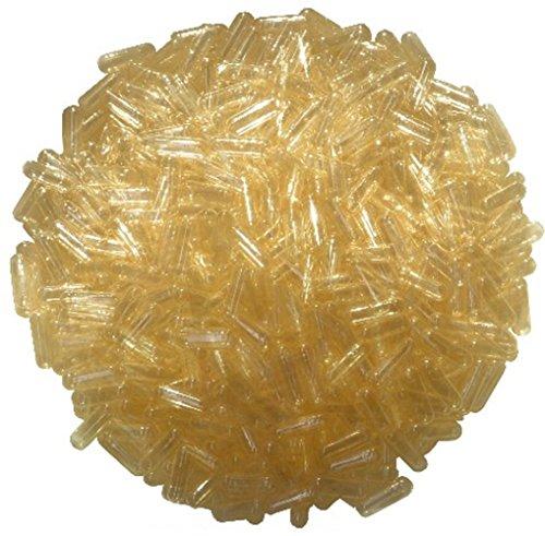 """PsoriasisEX - 1000 Cápsulas de gelatina dura, Tamaño """"0"""", transparente (natural)"""