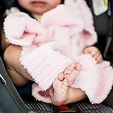 Saranoni Bamboni Luxury Bamboo Baby Blanket (Mini (15'x20'), Light Pink)