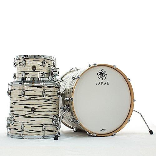 Sakae Trilogy Mint Oyster Pearl 3pcs Acoustic Drum