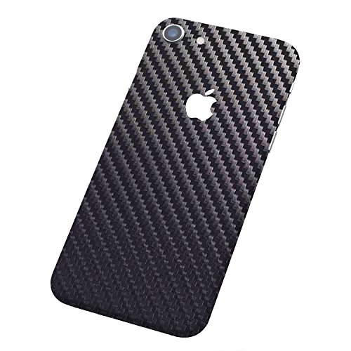 7 Layer Skinz Custom Skin Wrap Compatible with iPhone 7 (Gunmetal Carbon Fiber)