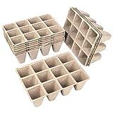 Schramm® Anzuchttöpfe aus Zellulose Höhe 5 cm für 144, 240 oder 360 Pflanzen biologisch...