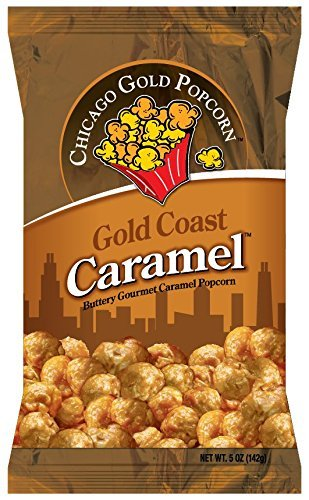 Great Features Of Chicago Gold Popcorn - Gold Coast Caramel air popped popcorn 6 bags