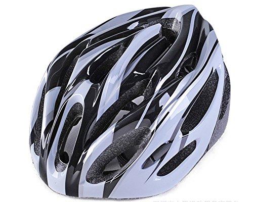 SHINA Unisex Casque de vélo EPS + PC Ultraléger VTT Vélo Montagne Casque Confortable Casque de Protection Taille Unique 5 Couleurs (Noir)