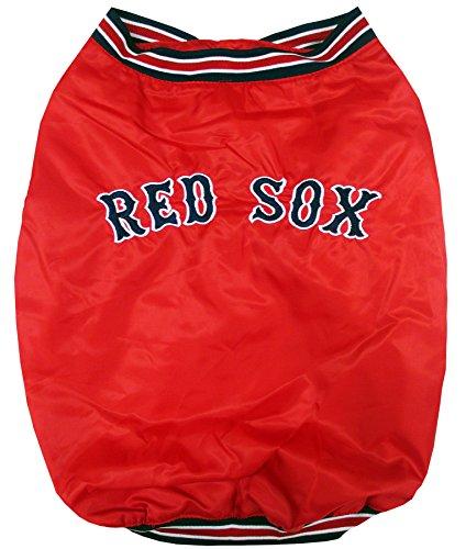 Pets Erste MLB Boston Red Sox Einbaum Hund Jacke