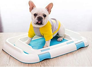 Pet Indoor And Outdoor Toilet Dog Potty Trainer Portable Pet Toilet Pet Training Mat Bracket Fence With Fence Removable Do...