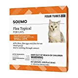 Amazon Brand - Solimo Flea Topical for Small Cats (5-9 pounds), 4 Count
