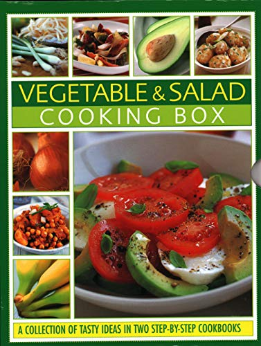 Vegetable & Salad Cooking Box: A Collection of Tasty Ideas in Two Step-By-Step Cookbooks