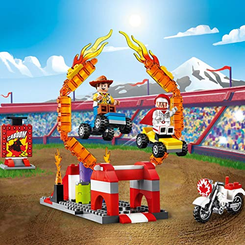 LEGO Juniors Le Acrobazie di Duke Caboom, Gioco per Bambini, Multicolore, 262 x 191 x 61 mm, 10767