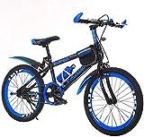 WYZXR Freestyle Kids 'Bikes Bicicleta de 18 Pulgadas con Cambio de Marchas para niños