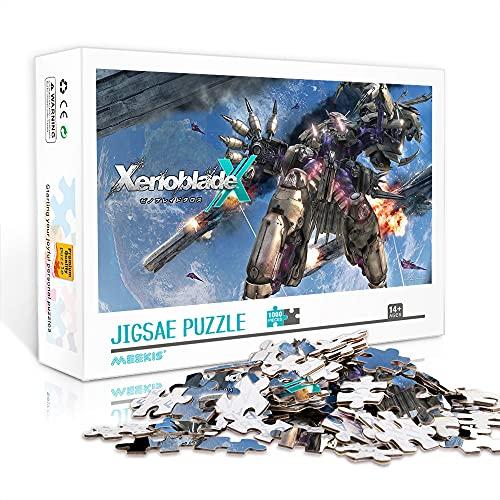Mini Puzzle Per Adulti 1000 Pezzi Party Entertainment Progetti Di Team Building Xenoblade Chronicles X 70X50Cm