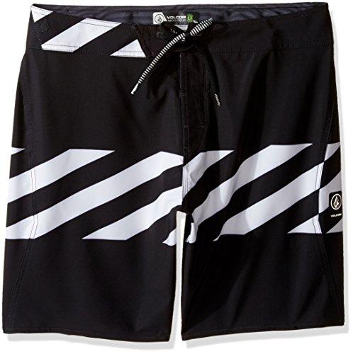 Volcom Men's Macaw Mod 20' Boardshort Board Shorts, Black, 28