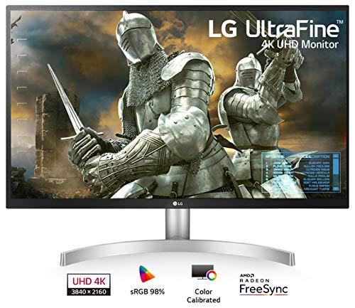 LG 27UL500-W 27-Inch UHD (3840 x 2160) IPS Monitor with Radeon...