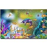 Papel tapiz fotográfico personalizado murales 3d fondos de pantalla mundo submarino acuario tema espacio TV fondo papeles de pared para sala de estar