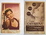 Tarjeta Publicidad - Advertising Card : MARÍA MONTEZ - Crema Caffarena