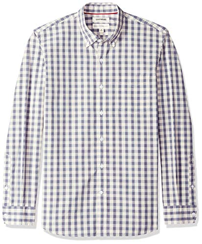 Marca Amazon – Goodthreads – Camisa de popelín a cuadro