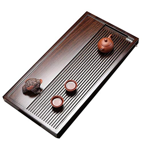 Affordable CJVJKN Kung Fu Tea Tray,Solid Wood Tea Tray Chinese Kung Fu Tea Tray Simple Tea Room Te...