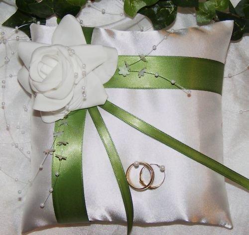 Ringkissen im Shop auch Hochzeitskerze VK-06 20/20 cm