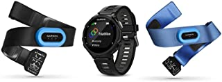 Garmin Forerunner 735XT Tri-Bundle, Multisport GPS Running Watch with Heart Rate, Includes HRM-Tri and HRM-Swim Monitor, Black/Gray
