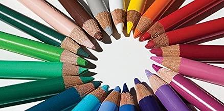 Colored Pencils - 2ft x 4ft Drop Ceiling Fluorescent Decorative Ceiling Light Cover Skylight Film