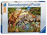 Ravensburger Animals at the Waterhole 500 Piece Jigsaw Puzzle for Adults & for Kids Age 10 and Up