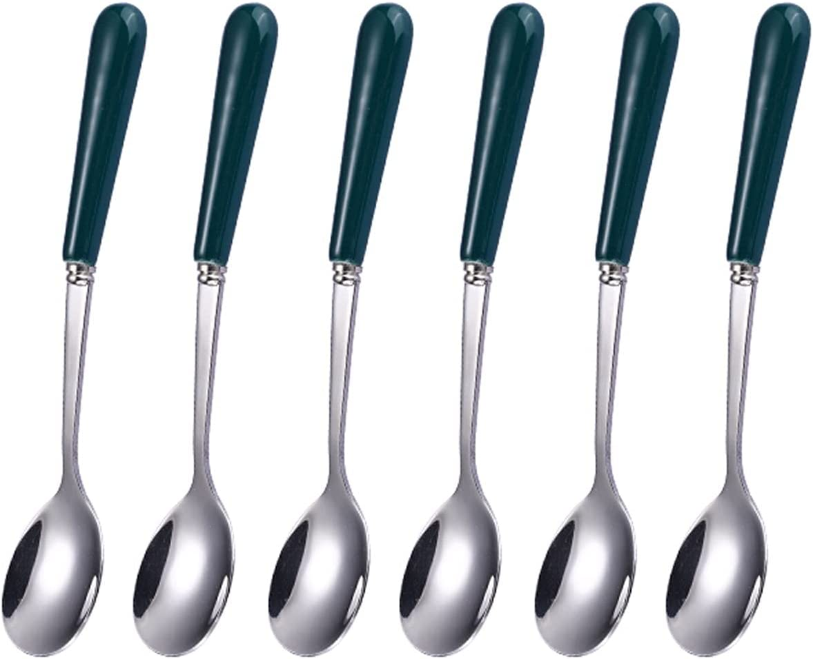 Tablespoons New mail order Soup Spoon Dinner Very popular Set Pieces Dessert C 6